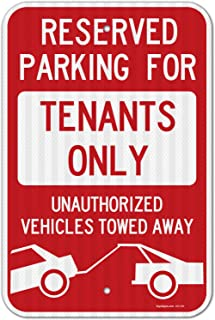 residential parking signs