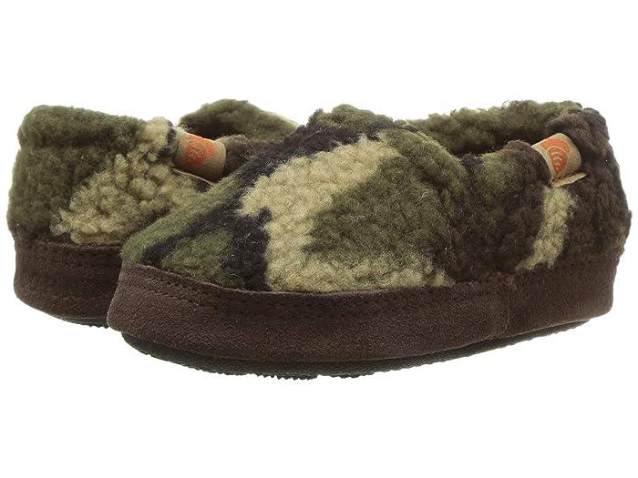 Acorn Kids  Acorn Moc (Toddler/Little Kid/Big Kid) (Camoflage) Kids Shoes