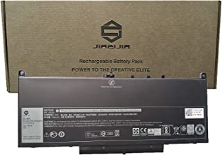 JIAZIJIA J60J5 Laptop Battery Compatible with Dell Latitude 14 7470 E7470 Latitude 12 7270 E7270 Series Notebook PDNM2 R1V85 451-BBSX 451-BBSY 451-BBSU MC34Y 242WD GG4FM Black 7.6V 55Wh 7080mAh