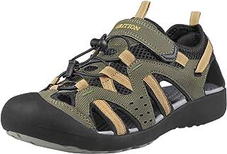 Mens Hiking Sandals Summer Beach Closed Toe Sandal Waterproof Comfortable Fisherman Sport Athletic Outdoor Walking Sandles Water Shoes