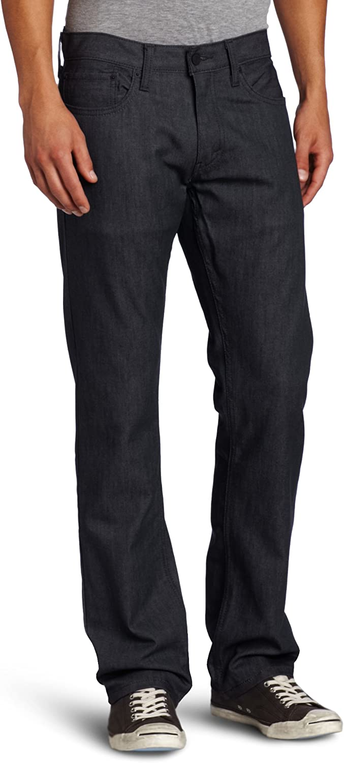 Levi's Men's 514 Straight fit Stretch Jean, Rigid Grey, 32x36 at  Men's Clothing store