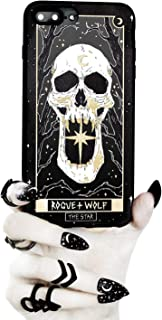 Rogue + Wolf The Star Tarot Card Phone Case with Metallic Gold Mirror Details Compatible with iPhone 11 Cases Wiccan Goth