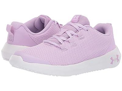 Under Armour Kids UA GPS Ripple NM (Little Kid) (Purple Ace/White) Girls Shoes