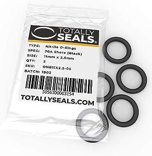 1 Nero confezione a scelta diametro esterno 35 mm 25 mm x 5 mm durezza 70A in gomma nitrilica