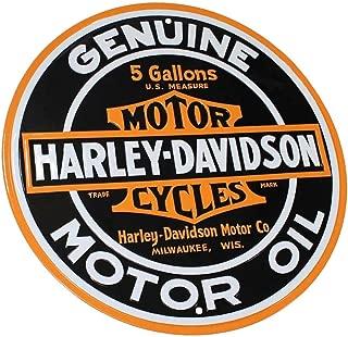 HARLEY-DAVIDSON Genuine Motor Oil 14 Inch Round Tin Metal Sign 2010621