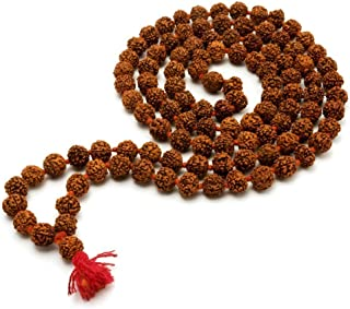 krishnagallery Rudraksh Moti Japa Mala Shiv Pooja Use, Mantra, 12 mm