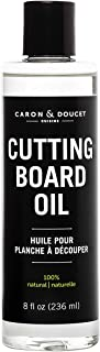 Caron & Doucet - Cutting Board & Butcher Block Conditioning & Finishing Oil | 100% Plant Based & Vegan, Best for Wood & Bamboo Conditioning & Finishing, Makes Cleaning Wood Easier | Mineral oil FREE