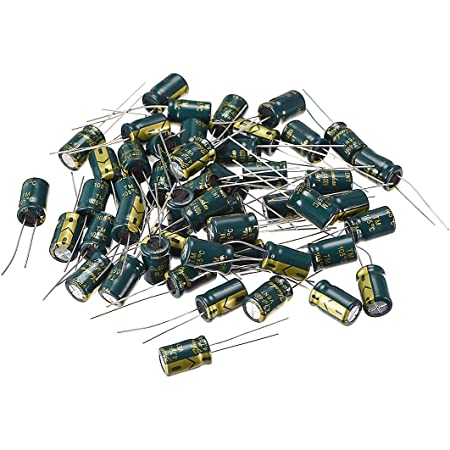 50 x 2.2uF 400V Radial Electrolytic Capacitor 8 x 12mm
