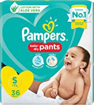 Pampers Diaper Pants, Small, 36 Count