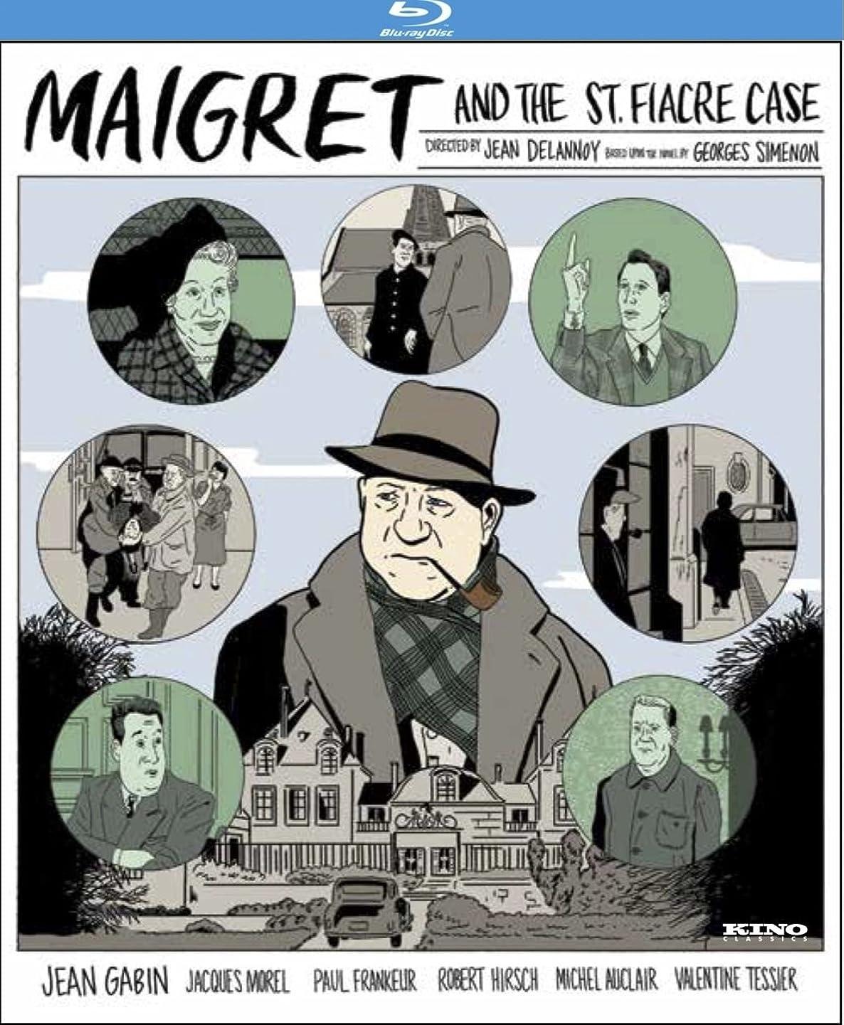 癒す用語集前件Maigret & St Fiacre Case [Blu-ray]