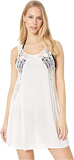 Salt Water Solids Tank Cover-Up Dress