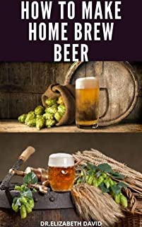 HOW TO MAKE HOME BREW BEER: Comprehensive Guide On Making Your Own Beer At Home : Includes Recipes and Flavours (English Edition)