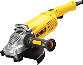 DeWalt 230mm 2200W Large Angle Grinder with Lock-on Switch, Yellow/Black, DWE492-B5, 3 Year Warranty