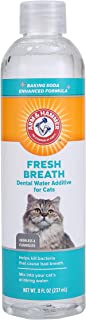 Arm & Hammer for Pets Advanced Care Dental Water Additive for Cats | Cat Teeth Cleaning Product for All Cats | Cat Dental ...