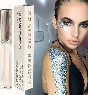 glue for glitter eyeshadow
