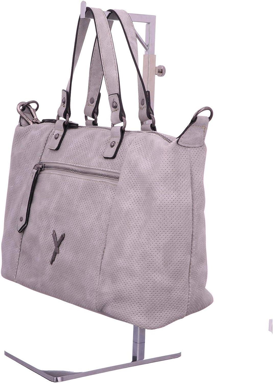 Suri Frey Accessoires Taschen Romy light grau Cityshopper 11063-810 grau grau grau 446974 B077K9W2MN  Das hochwertigste Material 60cb52