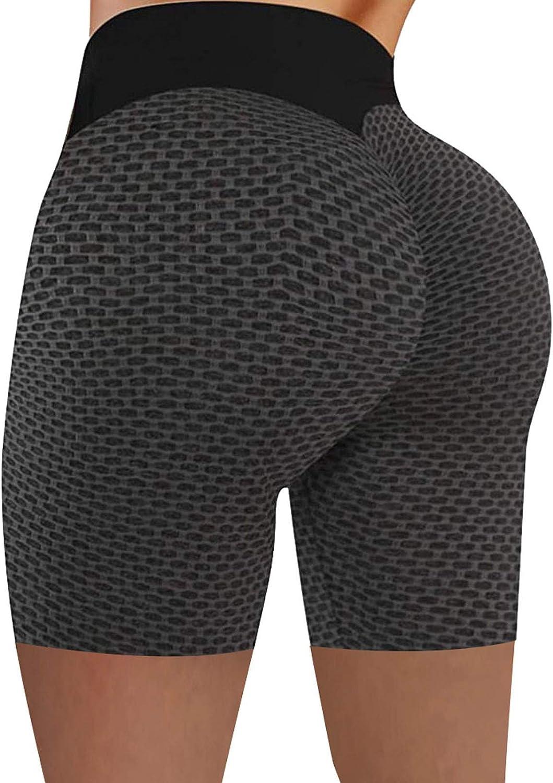 Tick OFFicial site Tock Cheap SALE Start Leggings for Women Butt Lift Stretch High Yoga Shorts