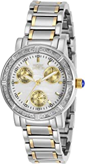 Invicta Women's Angel Quartz Stainless-Steel Strap, Two Tone, 16 Casual Watch (Model: 29117)