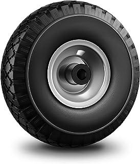 Forever Speed Kruiwagenwiel massief rubber kruiwagen banden max. 100 kg 3.00-4 zwart 20 mm