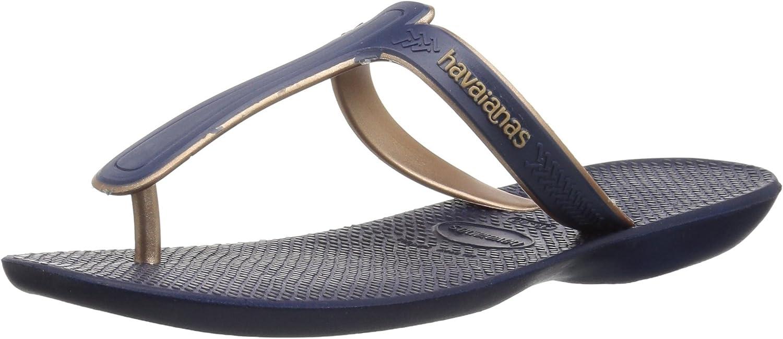 Havaianas Women's Casuale Sandal Navy bluee,
