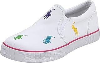 Polo Ralph Lauren Boy's BalHarbourrepWhit Sneaker