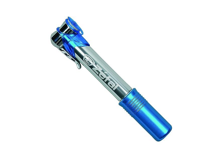 対処するリング不毛のZefal(ゼファール) 携帯ポンプ アルミ製 エアープロフィール マイクロ [Air Profil Micro] 88g 7bar/100psi ブルー 842002