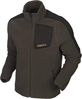 HARKILA Venjan Men's Fleece Jacket Hunting Jacket Outdoor Jacket Overcoat Transition Jacket Underlayer Jacket (Shadow Brow...