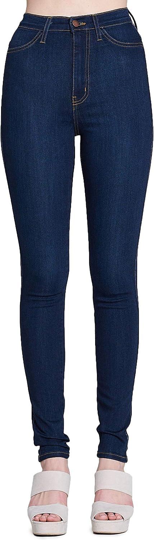 Vibrant Super Stretch Ultra-Cheap Deals High Rise Jeans Popular popular
