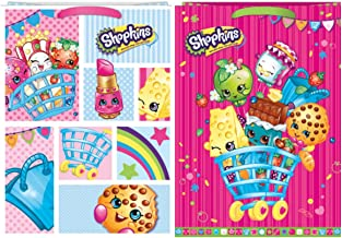 Shopkins Gift Bags [2 Pack] - Tissue Paper Included