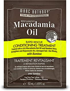 Marc Anthony Repairing Macadamia Oil Deep Rescue Conditioning Treatment, 50ml
