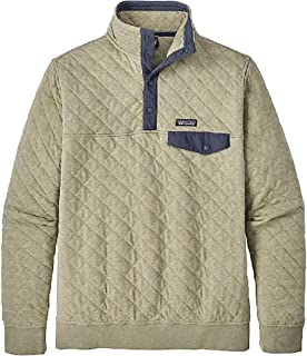 Patagonia Men's Organic Cotton Quilt Snap-T Pullover, Shale, X-Large