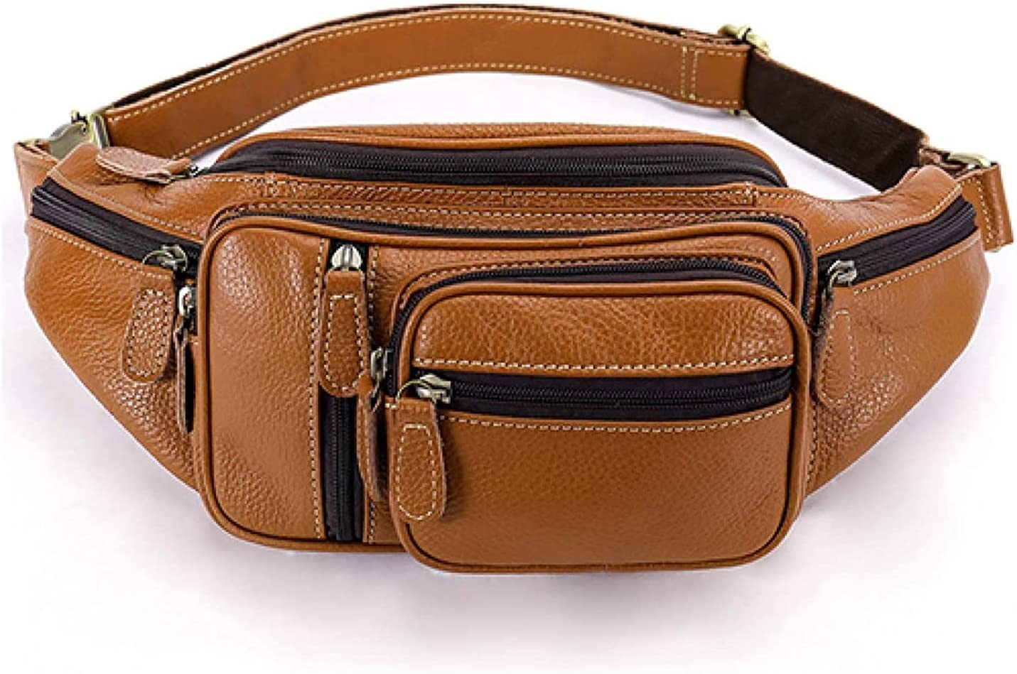 Outlet ☆ Free Shipping DSWHM Fanny Pack Waist Bag Omaha Mall Hip Leather Bum Tra Multifunction