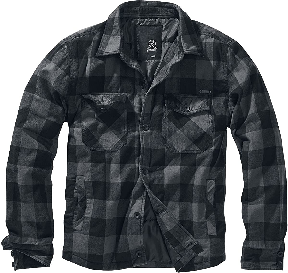 Brandit Checked Lumber Limited price Large Max 41% OFF Jacket X