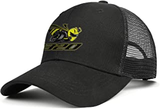 Men's Womens Mesh Ball Dodge-Scat-Pack-1320-Angry-Bee- Cap Adjustable Snapback Travel Hat