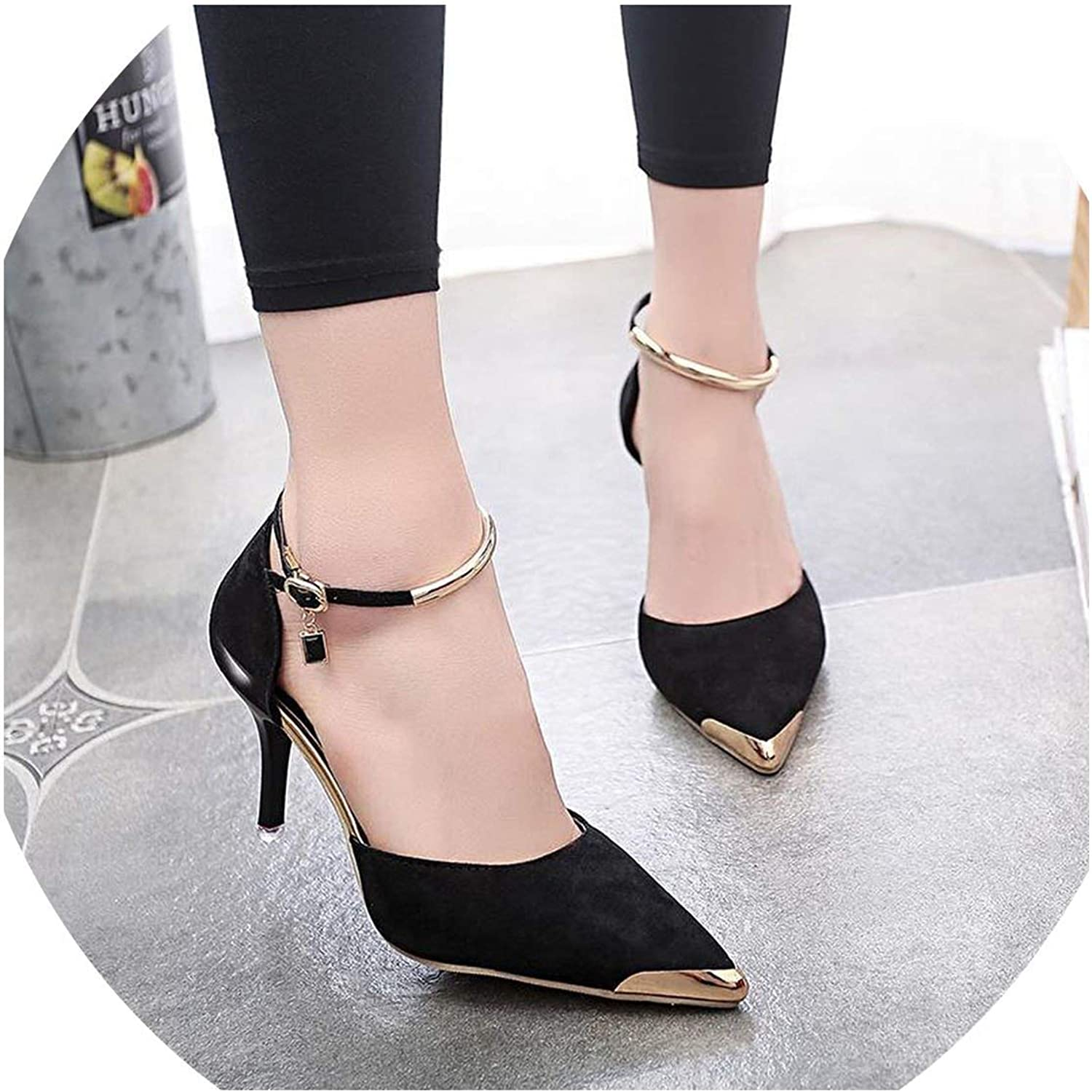 Mostand heeled-sandals High Heels Pointed Toe Thin Heel
