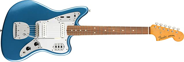 Fender Classic Series Lacquer 60's Jaguar - Pau Ferro - Lake Placid Blue