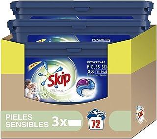 Skip Ultimate Triple Poder Pieles Sensibles Detergente Cá