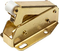Gedotec Quickck Veersnapper voor kastdeuren en kleppen, van messing, 1 stuks, veerkliksluiting met tegenstuk