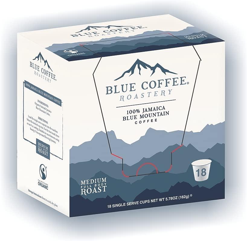 Blue Roastery Genuine Jamaica Blue Mountain Coffee For Keurig 18 Ct Packaging May Vary