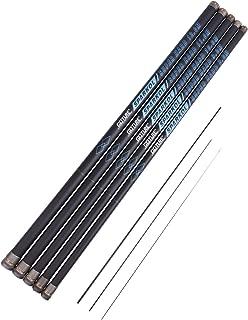 Goture 1 Piece Carp Fishing Pole, Carbon Fiber Ultralight Telescopic Fishing Rod 10FT 12FT 15FT 18FT 21FT 24 FT+ Free Tip Set (Top 3 Segments)