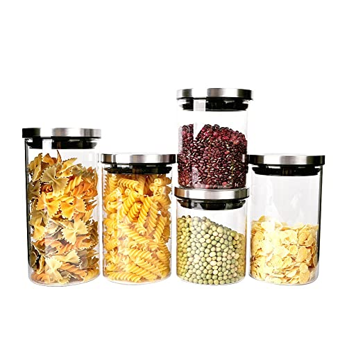46d240e638e0 Stainless Steel Food Containers for Pantry: Amazon.com