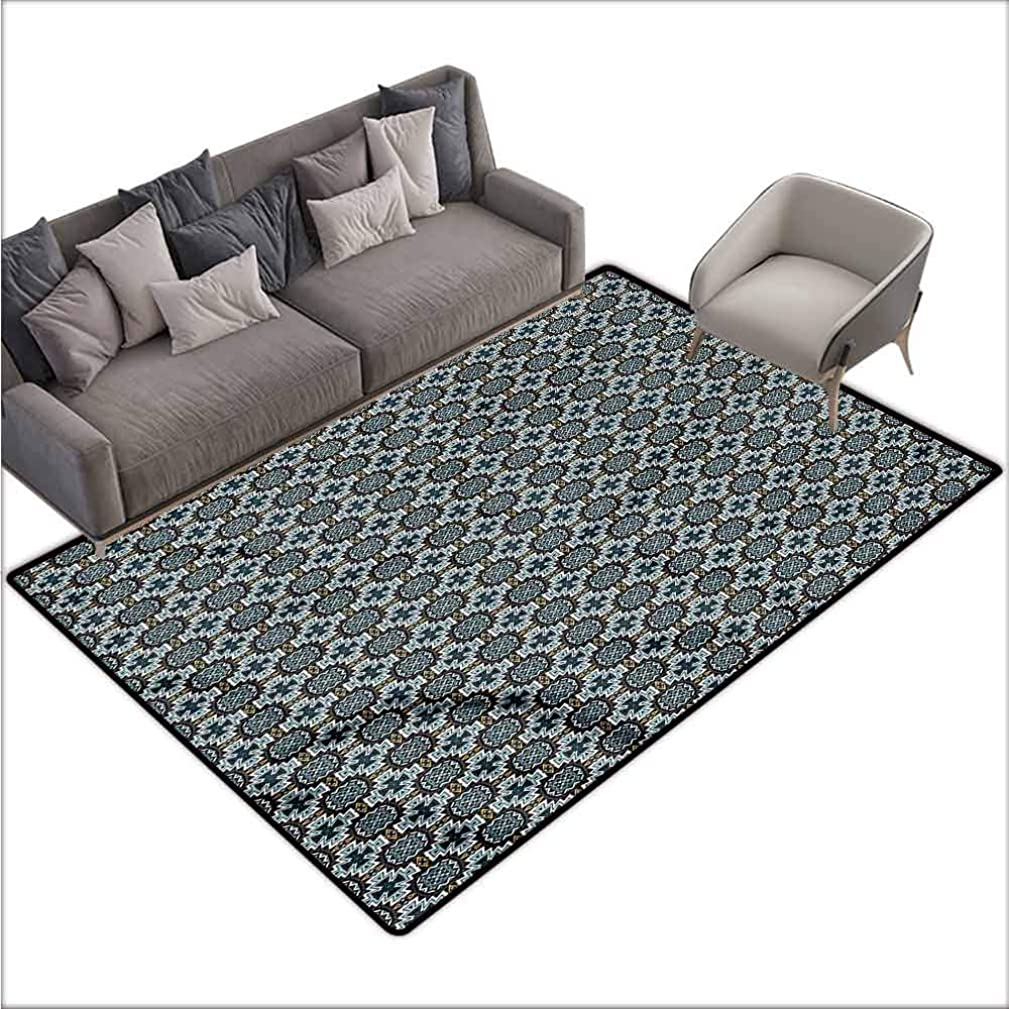 Baby Crawling Area Mats Vintage,Classic Medieval Pattern 48