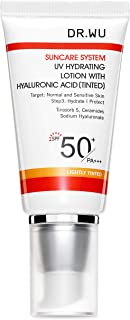 Dr Wu Uv Hydrating Tinted Lotion With Hyaluronic Acid Spf50+, 30 Milliliter