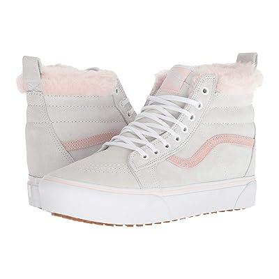 Vans SK8-Hi Platform MTE ((MTE) True White/Pink Fur) Shoes