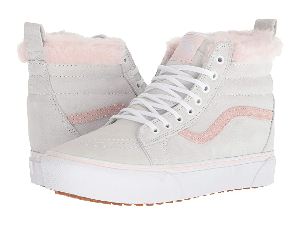 Vans SK8-Hi Platform MTE ((MTE) True White/Pink Fur) Shoes
