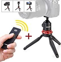 Sevenoak Tripod for Camera Vlogging, Mini Travel Grip with 360° Panning Ball & Extendable Grip & Wireless Remote Control for Canon Nikon DSLR GoPro Action Smartphone YouTube Podcast Video Livestream