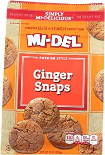 MIDEL GINGER SNAPS , Pack of 8