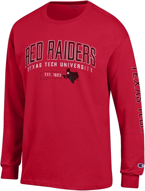 Champion Mens NCAA Mens Fair Catch Long Sleeve T-Shirt