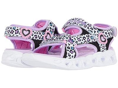 SKECHERS KIDS Sandals Heart Lights Sandals 302090L (Little Kid/Big Kid) (White/Multi) Girl
