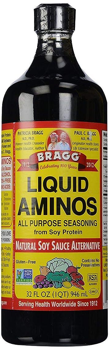 読書銃療法Bragg Liquid Aminos 32オンス